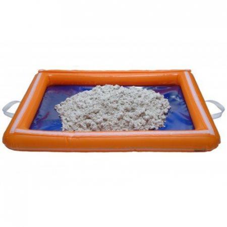 Tavita gonflabila pentru joaca cu nisip kinetic sau alte materiale3