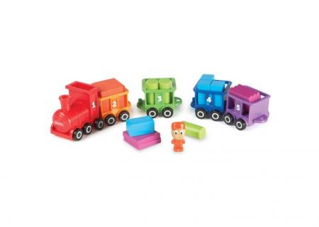 Trenuletul cu numere si culori Choo-Choo4
