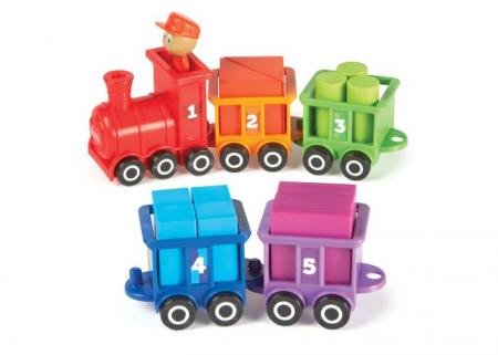 Trenuletul cu numere si culori Choo-Choo1
