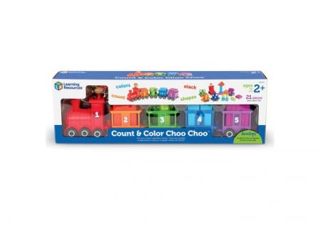Trenuletul cu numere si culori Choo-Choo3