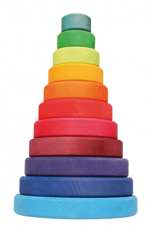Turn colorat 11 piese0