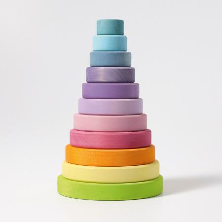 Turn colorat pastel 11 piese1