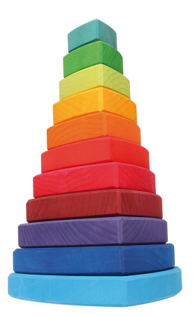 Turn de stivuit cu triunghiuri pentru bebelusi [1]