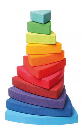 Turn de stivuit cu triunghiuri pentru bebelusi [2]