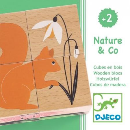 Cuburi din lemn Natura1