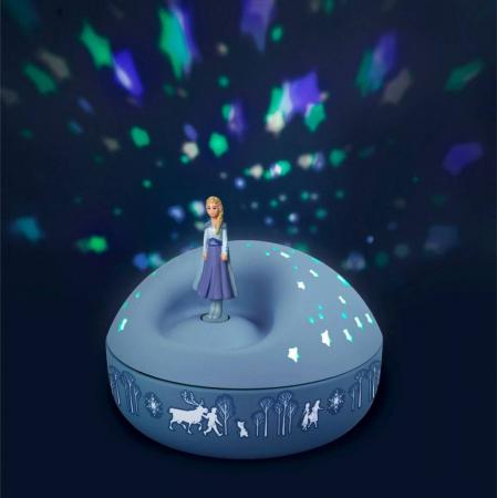 Veioza proiector stelute, Elsa - Frozen 21