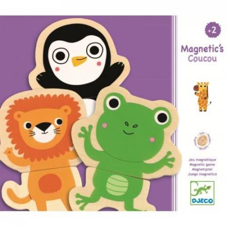 Joc cu magneti Animale - prietenoase1