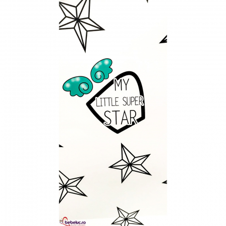 Punga cadou din carton - My little super star [1]