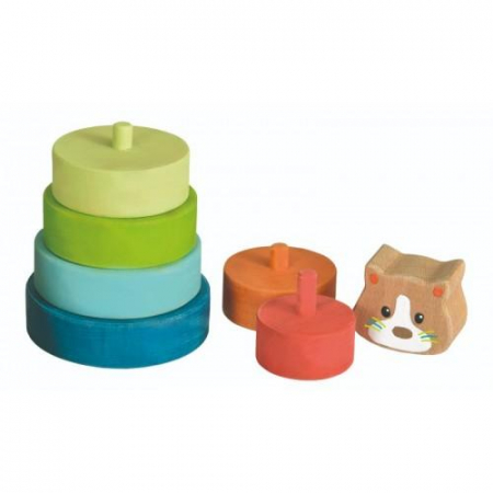 Piramida tip Montessori - Pisica1
