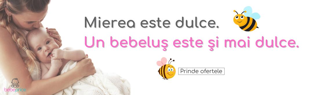 Un bebelus este mai dulce ca mierea