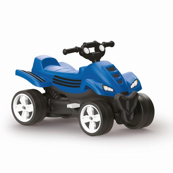 ATV cu pedale - Albastru 0