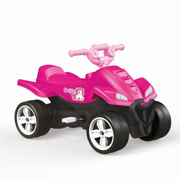 ATV cu pedale roz - Unicorn 1