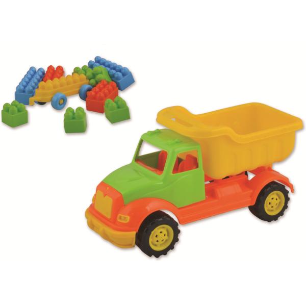 Autobasculanta 30 cm cu 36 piese constructie Ucar Toys UC103 0