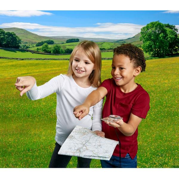Aventuri in aer liber – Compass Brainstorm Toys E2062 3