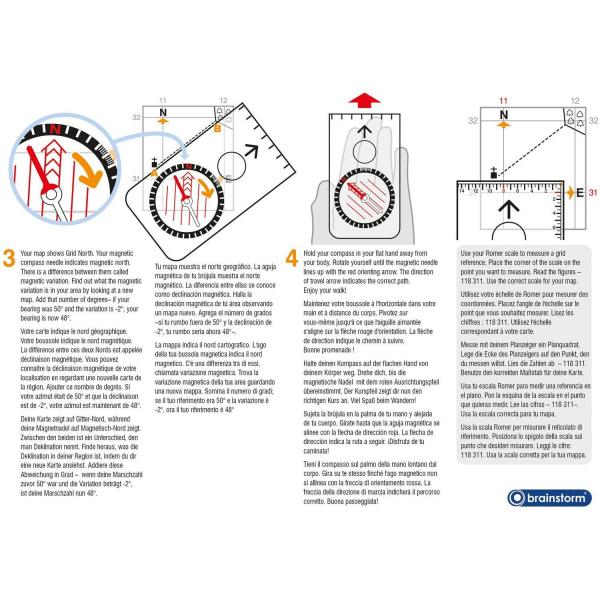 Aventuri in aer liber – Compass Brainstorm Toys E2062 6