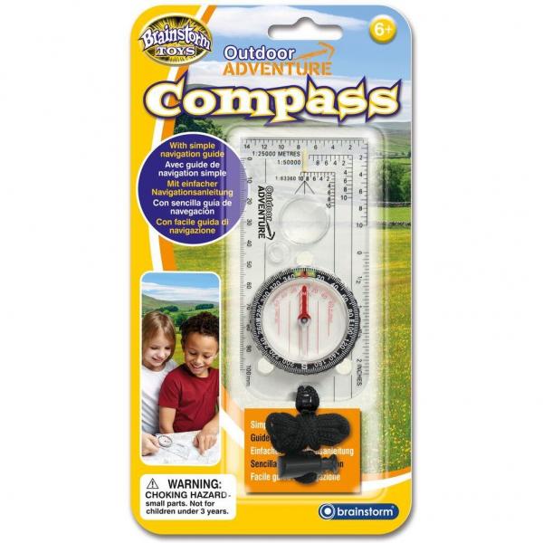 Aventuri in aer liber – Compass Brainstorm Toys E2062 0