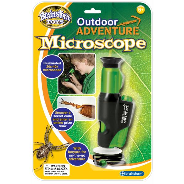 Aventuri in Aer Liber - Microscop Brainstorm Toys E2014 0