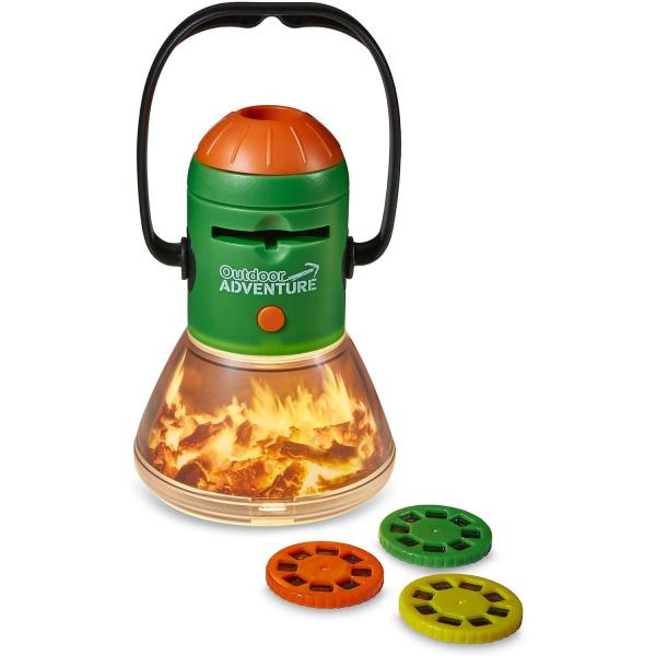 Aventuri in aer liber – Proiector si lampa de veghe pentru Camping Brainstorm Toys E2060 1