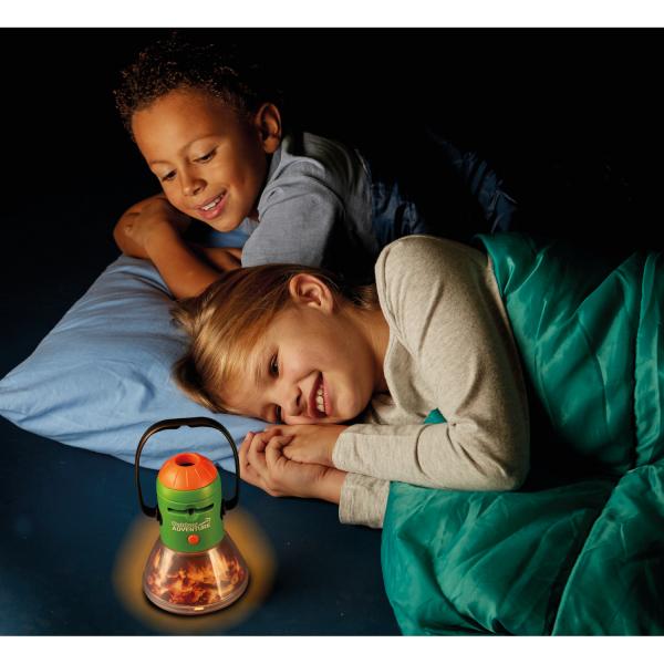 Aventuri in aer liber – Proiector si lampa de veghe pentru Camping Brainstorm Toys E2060 4