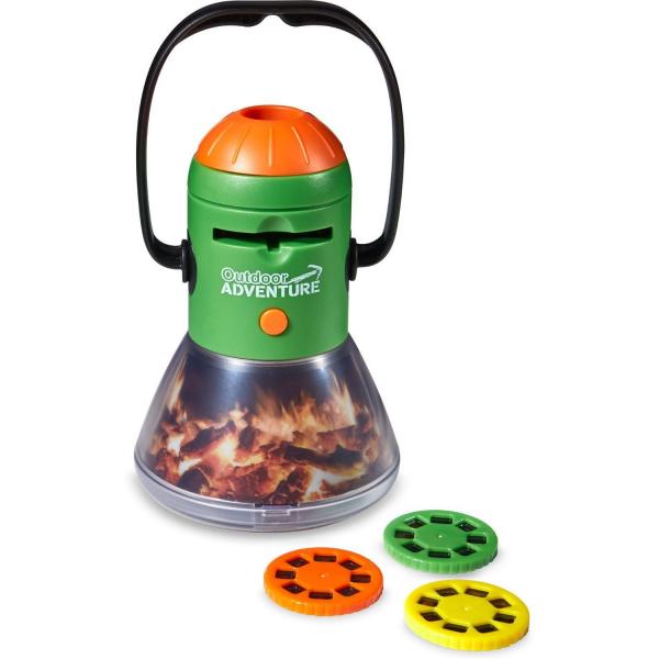 Aventuri in aer liber – Proiector si lampa de veghe pentru Camping Brainstorm Toys E2060 2