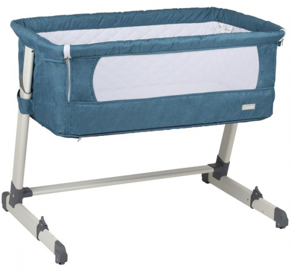 BabyGo – Patut co-sleeper 2 in 1 Together Turquoise Blue 0