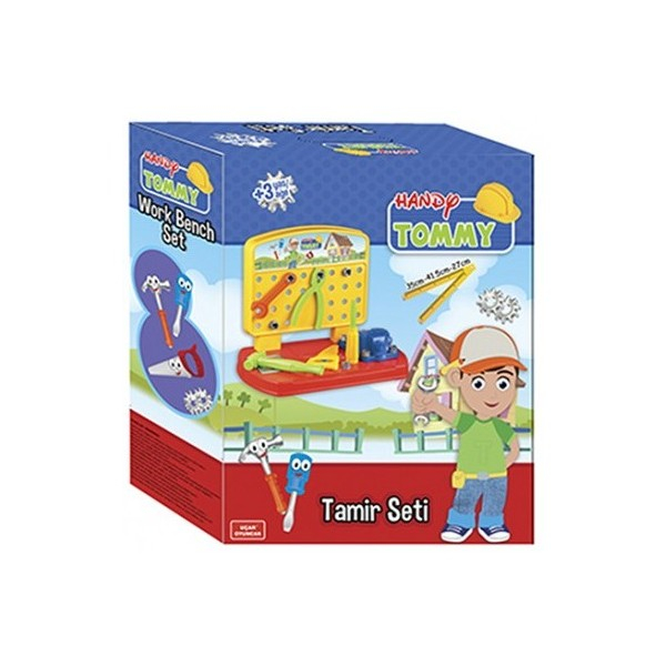 Banc de lucru Handy Tommy 28 piese Ucar Toys UC131 2