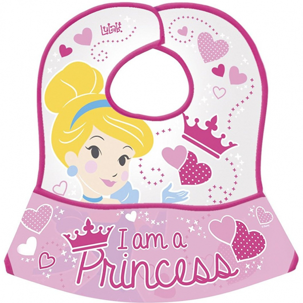 Bavetica impermeabila cu buzunar Princess Lulabi 8141000 0
