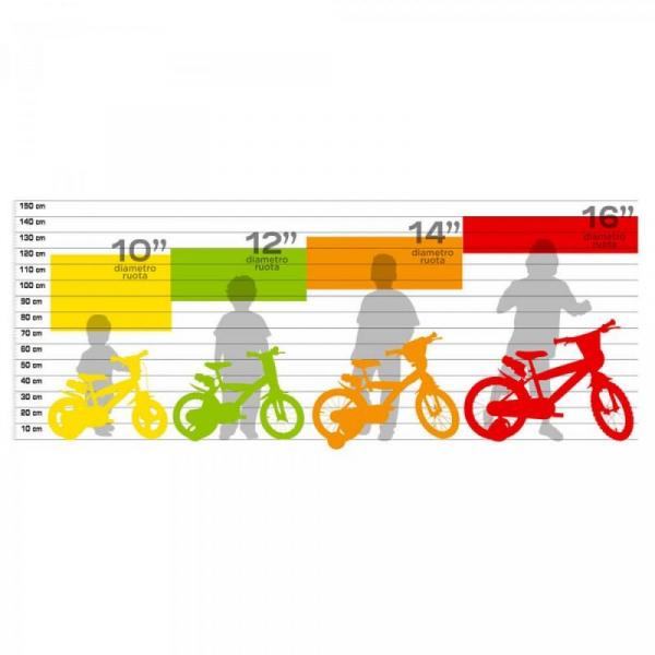 Bicicleta copii 10'' - EROII IN PIJAMA 1