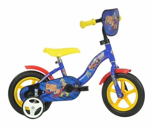 Bicicleta copii 10'' - POMPIERUL SAM 0