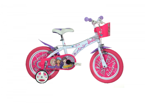 "Bicicleta copii 14"" - Barbie 0"