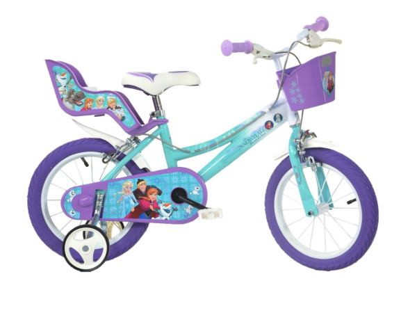 Bicicleta copii 16'' - FROZEN 0