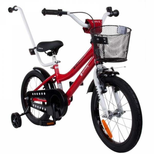 Bicicleta Sun Baby, BMX Junior 16, Rosu [1]