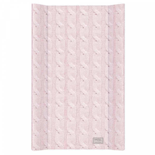 Blat de Infasat  cu intaritura Ceba Baby 50x70 cm, Cable Stitch Pastel Collection, Roz 0