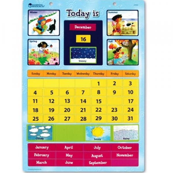 Calendar educativ magnetic 0