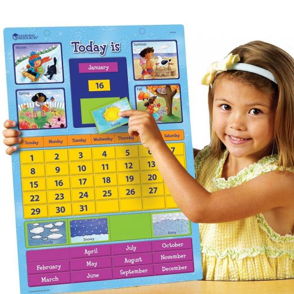 Calendar educativ magnetic 1