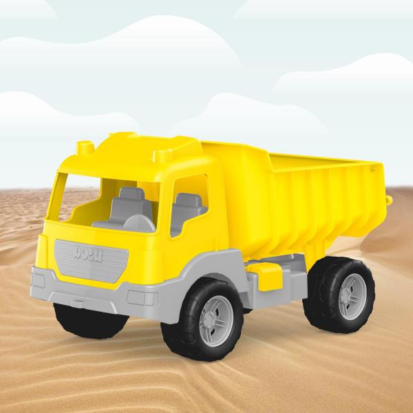 Camion galben - 38 cm 4