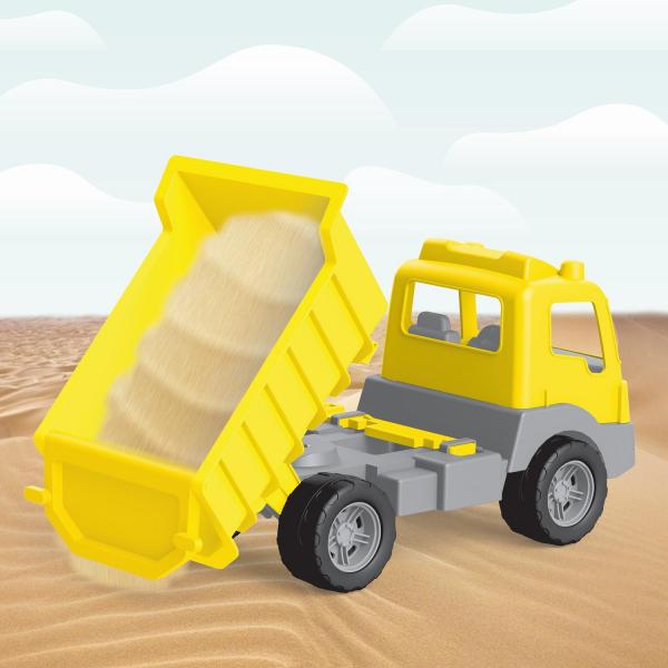 Camion galben - 38 cm 5