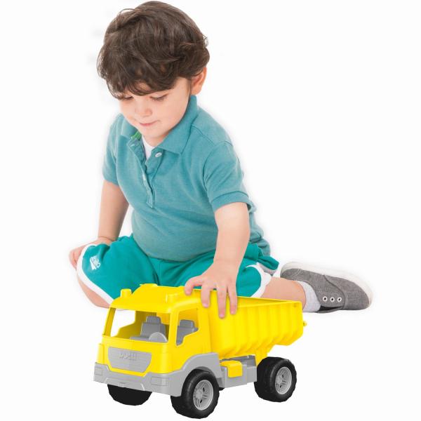 Camion galben - 38 cm 1