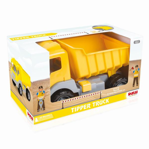 Camion galben - 38 cm 6