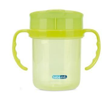 Cana anti-scurgere verde BebeduE 0