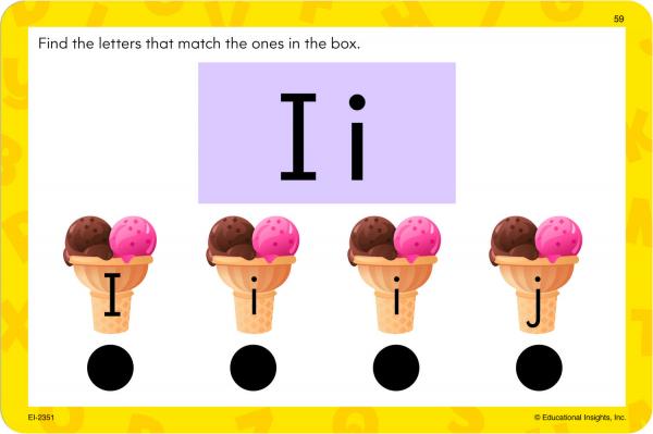 "Carduri Junior HOT DOTS ""Alfabetul"" 3"