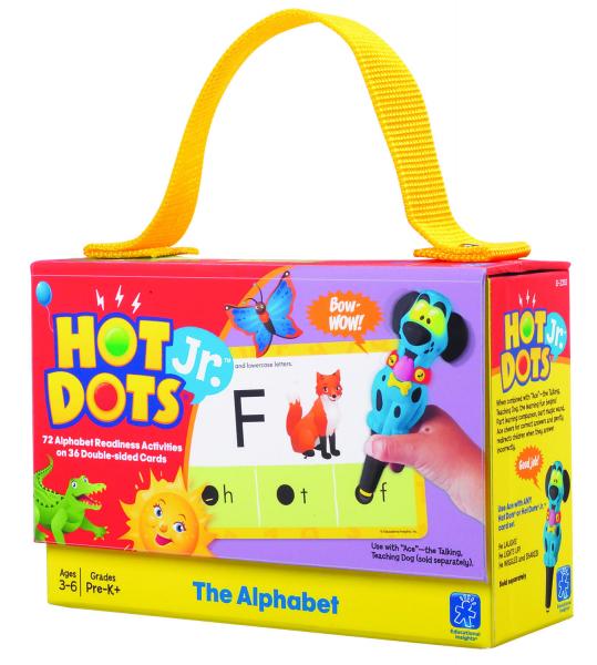 "Carduri Junior HOT DOTS ""Alfabetul"" 0"