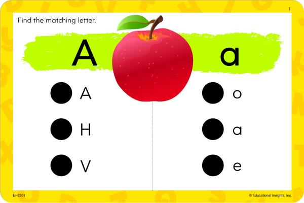 "Carduri Junior HOT DOTS ""Alfabetul"" 5"