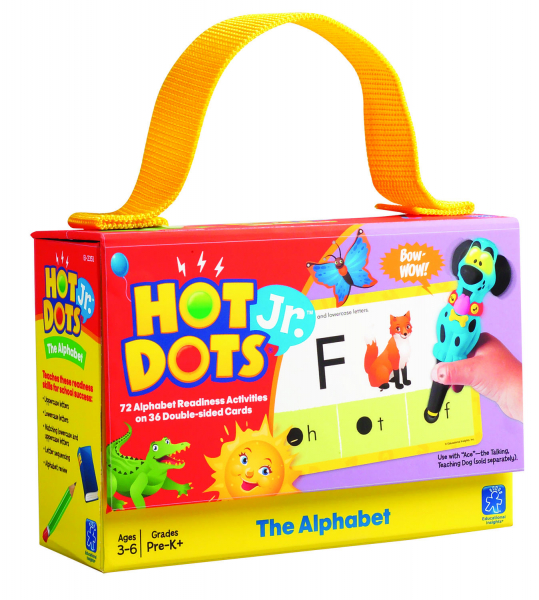 "Carduri Junior HOT DOTS ""Alfabetul"" 4"