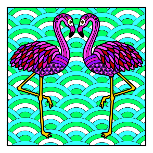 Carte de colorat - Animalute 4