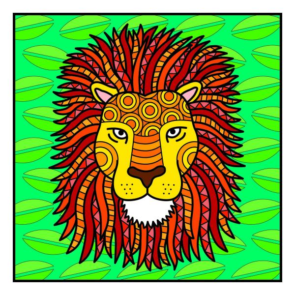Carte de colorat - Animalute 1