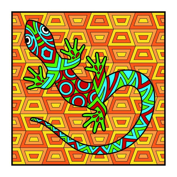 Carte de colorat - Animalute 2
