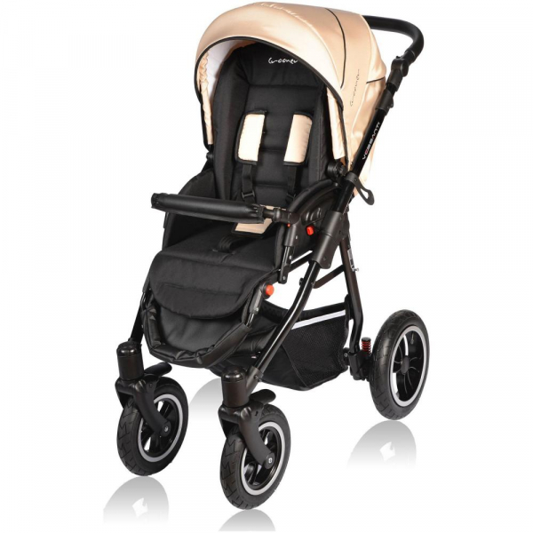 Carucior Crooner 2 in 1 - Vessanti - Cream 3