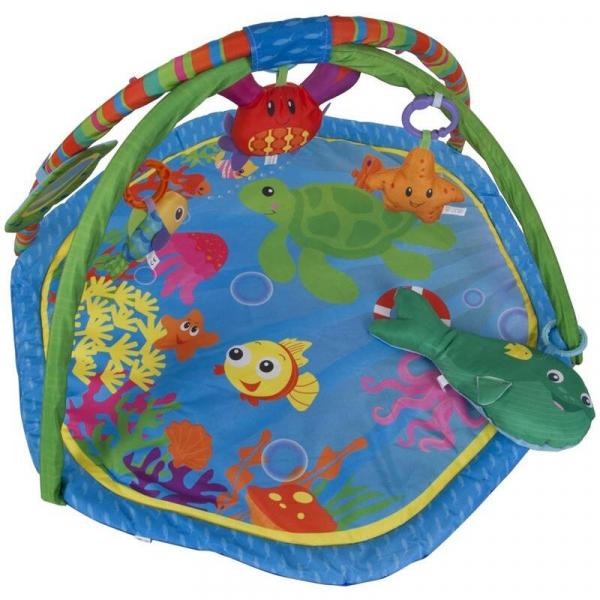 Centru de joaca cu pernita Ocean - Sun Baby 1