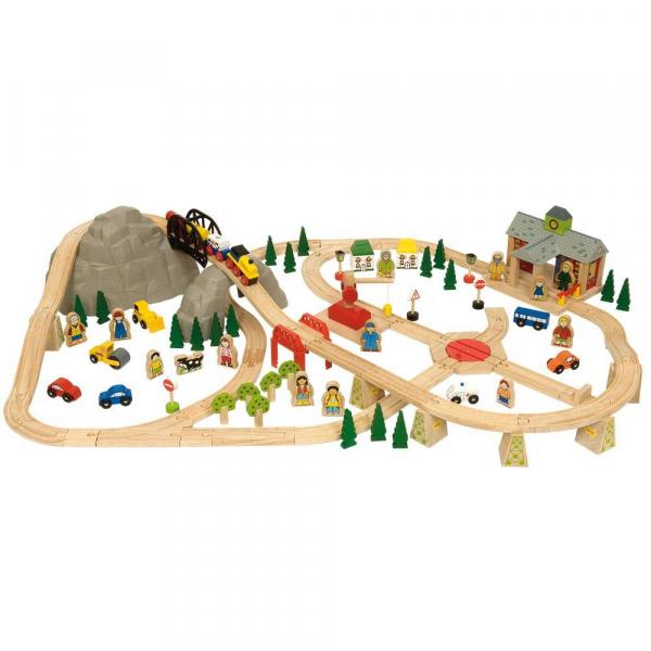 Circuit feroviar (112 piese) 1